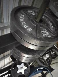 210 lb of weight plates for $129 Bakersfield, 93308