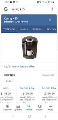 New in box Keurig K55 Maple Shade Township, 08052