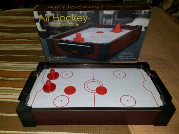 Used Air Hockey Tabletop Game For Sale In Brooklyn Letgo