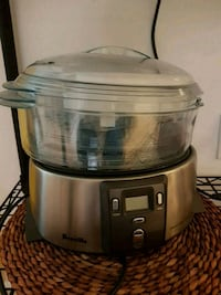 Breville 3 tier steamer, used once.  Whitby, L1P 1C1