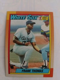 Frank Thomas rookie card!  Topps.  #1 draft pick.  Springfield