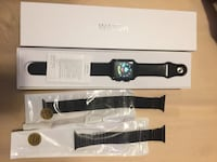 Smart watch- metallic black