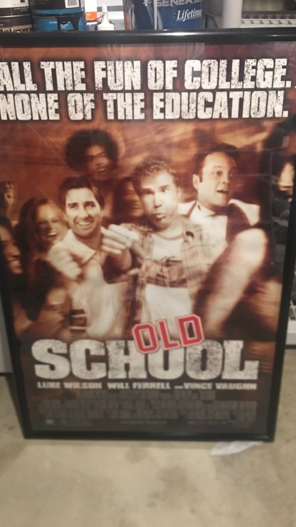 Old School -  48 x 36 Movie Poster