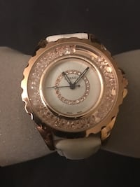 Pretty watch in white and rose gold hardware Rockville, 20852