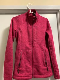 Women's fleece jacket Vancouver, V6E 1K7
