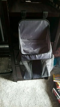 black and gray diaper carrier Alexandria, 22304