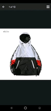 Brand new pull over wind breaker jacket