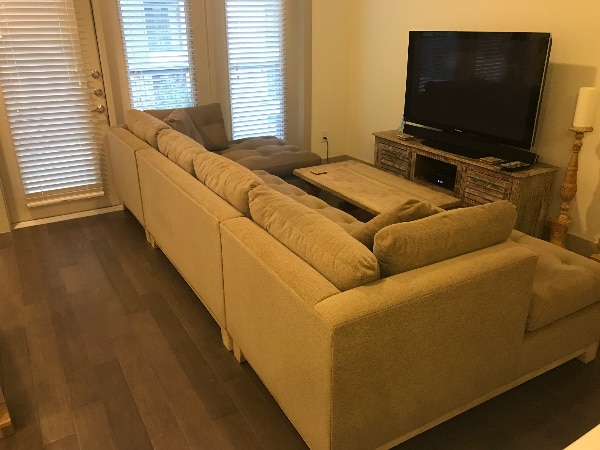 Arhaus Garner 3 Piece Sectional Sofa   In Great Condition!