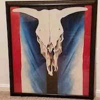 Georgia O'Keeffe Print in detailed wood frame  Fairfax, 22031
