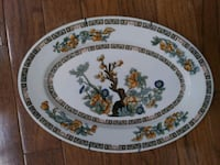 Vintage Syracuse China oval plate Chantilly, 20151