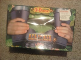 science lab spider insect binoculars