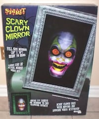 Halloween Decor Spirit Scary Clown Mirror London