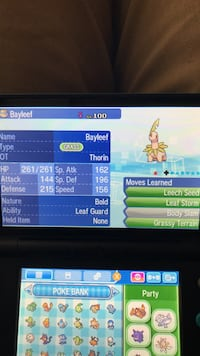 Shiny Bayleef, Quilava, and Croconaw Springville, 84663