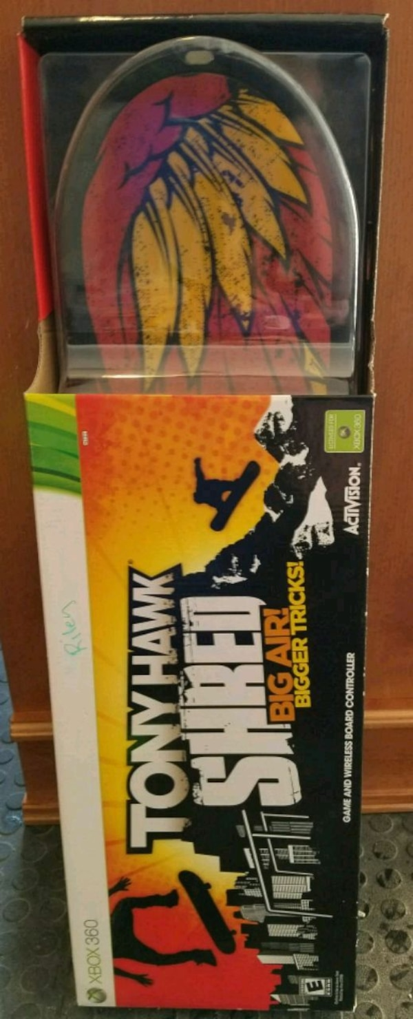 Tony Hawk XBOX 360 board brand new box not open