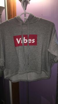 Gray Pull Over Vibes Hoodie Scugog, L9L 1C4