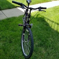 black hardtail mountain bike Roadmaster Troy, 45373