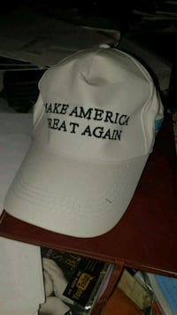 Hvit Trump caps Make America Great Again capsen  Oslo kommune, 0986
