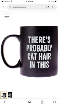 Mug perfect for a cat lover