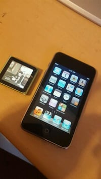 space gray and sliver iPod 8gb  Maryland