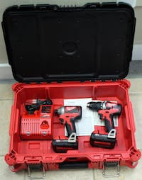 Milwaukee Drill/Impact kit *NEW* w/ Packout hard case Westminster