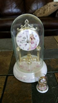 Moving sale Glass barbie clocks come with box West Jordan, 84088