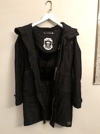 Size XS • TNA Summit Parka - Black Toronto