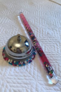 Office bell and  wand Great for any little girl $5 for the two  Brampton, L7A 0K2