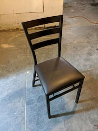 Two fold-up chairs