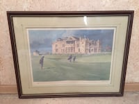"""St. Andrews Clubhouse by Robert A. Wade 14""""x21"""" signed and numbered Toronto, M1K 2E9"""