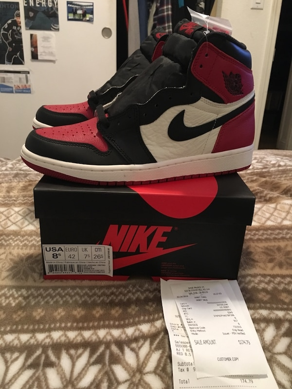 "on sale df5f9 76957 Jordan 1 ""Bred Toes"