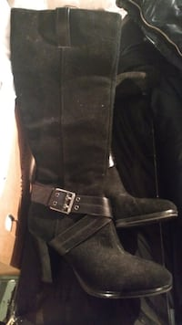 Suede Chaps boots Chicago, 60607