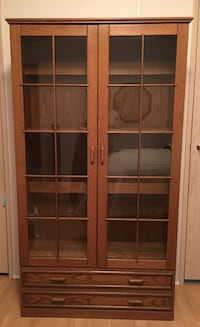 brown wooden framed glass door Maple Ridge, V2X 6R1