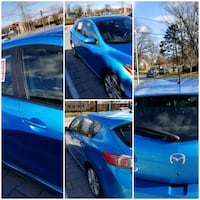 blue 5-door hatchback Laurel, 20708