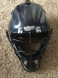 Baseball youth catcher/helmet