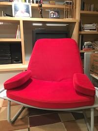 Red fabric sofa chair Silver Spring, 20906