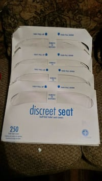 Toilet seat covers 4 packs 250 in each Oklahoma City, 73107