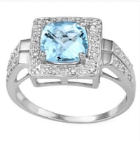 Blue topaz and diamond ring Spring Hill, 34608