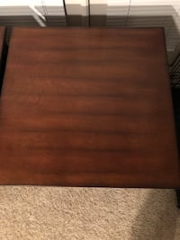 Two brown wooden end tables Houston, 77054