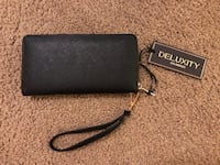 Deluxity Los Angeles - Black leather wallet | NEW Chicago, 60614