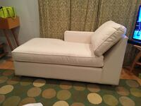 Crate and Barrel canvas chaise  Los Angeles, 90028