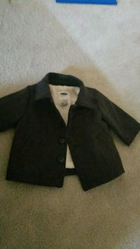 black and gray suit jacket size 3-6months Windsor, N8Y 3S1