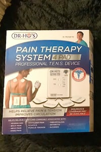 Dr. Ho's Pain Therapy System 4 Pad Toronto, M1P 2N3