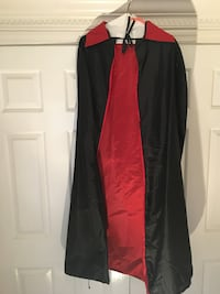 Black Cape with Red Lining Dalton