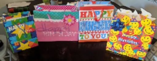 4 Birthday Bags