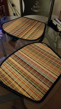Colored Bamboo Place Mats