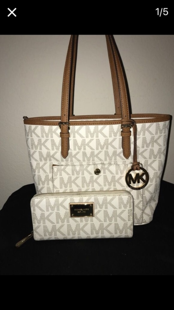 ca2322210746 Used Michael Kors Purse and Wallet set for sale in Frisco - letgo