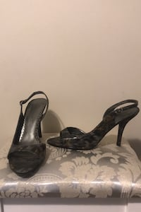 Sandal high heel shoes size 10