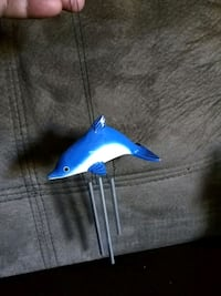 Wood Dolphin windchime Surrey, V3T 4L8