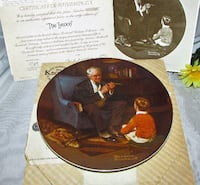 Collector Plate Norman Rockwell the Tycoon Mississauga