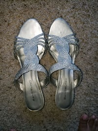 Silver party wear chappals  Silver Spring, 20910